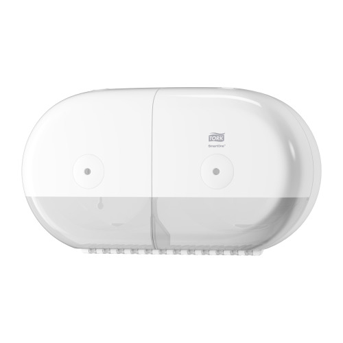 Tork SmartOne® Twin Mini Toilet Roll Disp White
