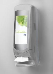 Tork Xpressnap® vysokokapacitný zásobník na servítky