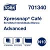 Tork Xpressnap Café®  Servilleta Blanca 12 pq / 500 pz