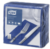 Tork Dark Blue Dinner Napkin 1/8 Folded