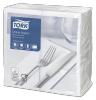 Tork White Dinner Napkin 1/8 Folded