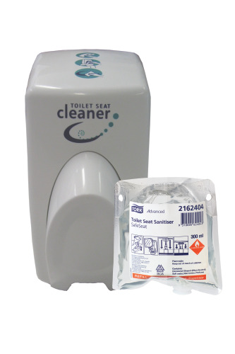 Tork Toilet Seat Sanitiser / Safeseat Dispenser