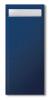 Tork Cutlery Bag blu scuro con tovagliolo bianco