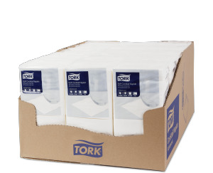Tork Soft Cocktailservietten Weiß