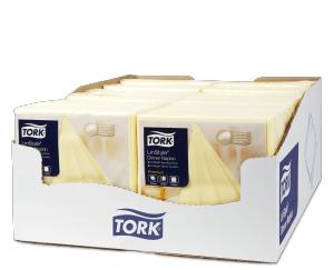 Tork LinStyle® Premium Dinnerservietten Champagner
