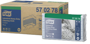 Tork 산업용 고내구성 클리닝 부직포