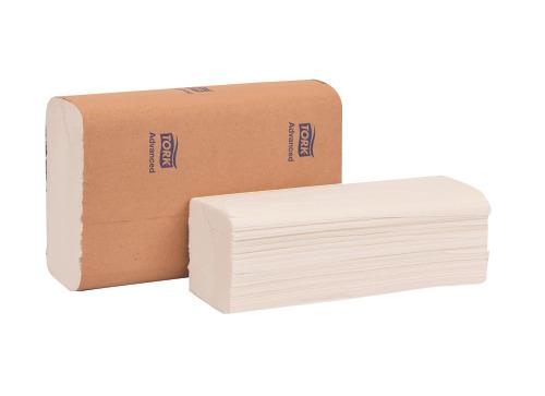 TOWEL MULTIFOLD 42 48 24 WHITE ECOLOGO 9.5X9 16/250/CS