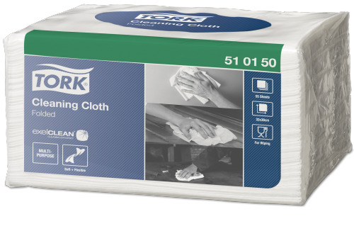 Tork®  Cleaning Cloth Folded Small Pack