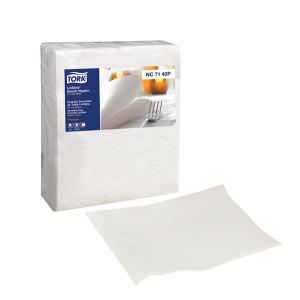 Tork Premium LinStyle® White Dinner Napkin, 1/4 Fold