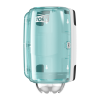 Tork Mini Centrefeed Dispenser White/Turquoise