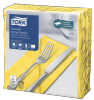 Tork Textured Yellow Dinner Napkin 1/8 Folded