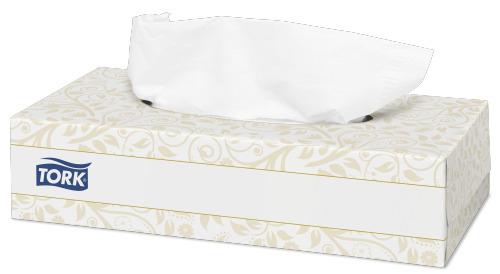 Tork салфетки косметические для лица ультрамягкие