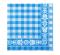 Tork Blue Check Lunch Napkin 1P