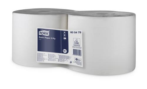 Papel básico Tork de 2 capas