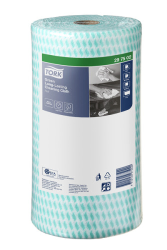 Tork®  Green Long-Lasting Cleaning Cloth