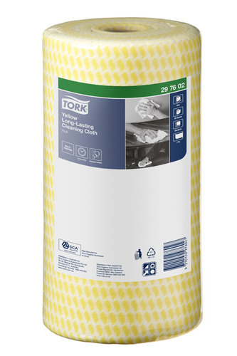Tork®  Yellow Long-Lasting Cleaning Cloth