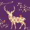 Tork Lunchservet Autumn Deer Purple