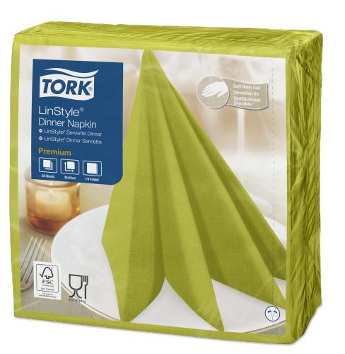 Tork Linstyle® lime Dinner-lautasliina