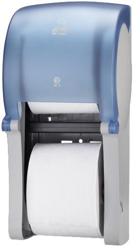Tork podwójny dozownik do papieru toaletowego Mid-size bez gilzy