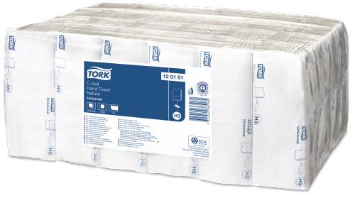 Tork C-fold papírové ručníky