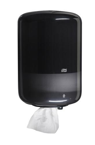 Tork Dispensador Elevation® Fluido Céntrico Negro