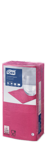Tork Cocktailservett Cerise
