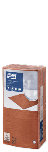 Tork Terracotta Cocktail Napkin