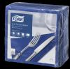 Tork Soft Dark Blue Dinner Napkin