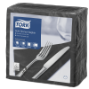 Tork Soft Black Dinner Napkin