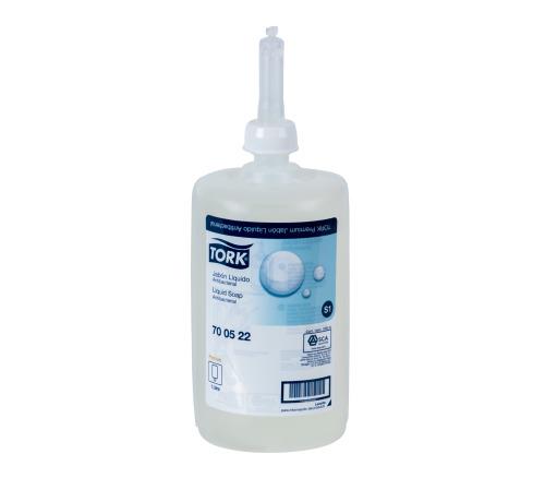 Tork Jabón Líquido Premium Antibacterial  6 pz / 1 lt
