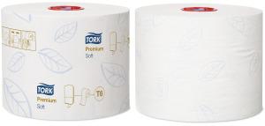 Keskmise suurusega rulltualettpaber Tork Soft Premium