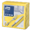 Tork Yellow Dinner Napkin