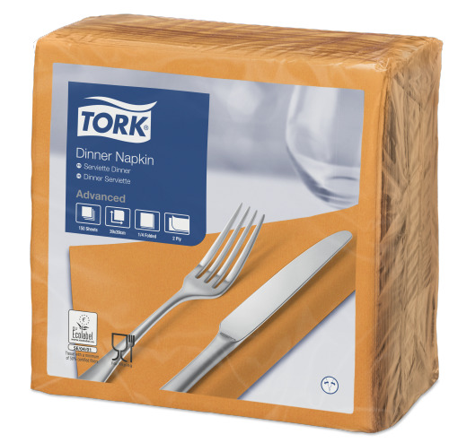 Tork Middagsservett Orange