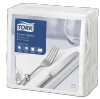Tork Serviette Dinner, Blanc