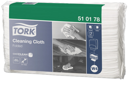 Tork®  Cleaning Cloth Folded