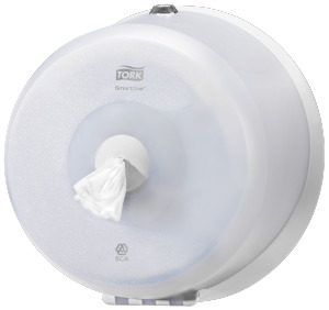 Tork®  SmartOne Mini Toilet Roll Dispenser