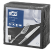 Tork Serviette Dinner, Noir