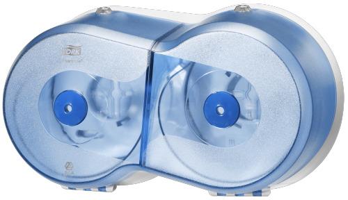 Tork SmartOne® Twin Mini Toilet Roll Dispenser