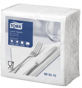 Servilleta para almuerzo Tork blanca
