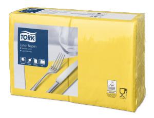 Tork Serviette Lunch, Jaune