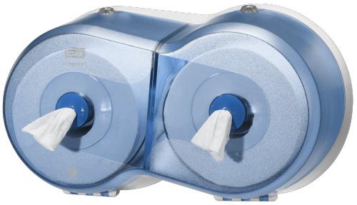 Susituido por artículos 682008/682000 (Dispensador de doble rollo de papel higiénico Tork SmartOne®)