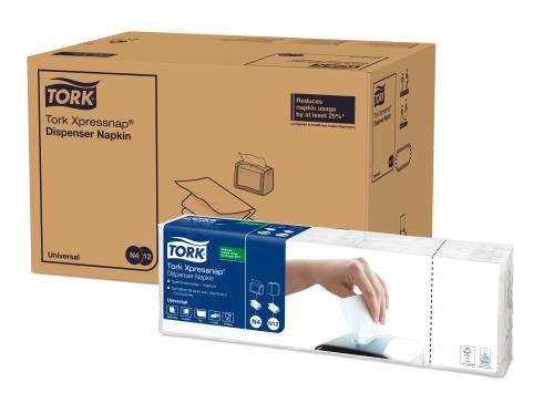 Tork XPN ServDist 1P 4F Blanc 1c 1pa 1125/8