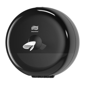 Tork SmartOne® Mini Toilet Roll Dispenser Black