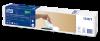 Extra jemný bílý ubrousek do zásobníku se vzorem listů Tork Xpressnap Snack® – s dekorem lístků