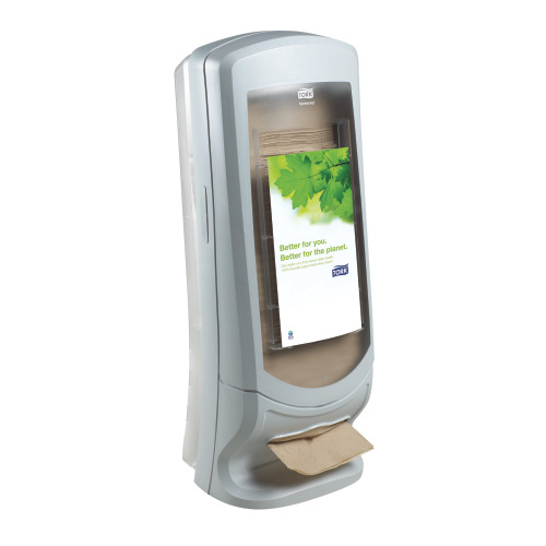 Tork®  Xpressnap Stand Napkin Dispenser Grey