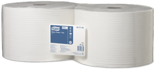 Tork®  Basic Paper 1ply Roll