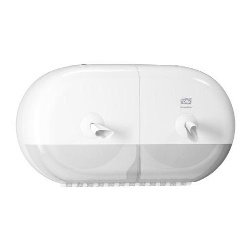 Tork SmartOne® Dispensador Duplo Mini Papel Higiénico