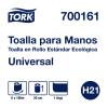 Tork Toalla en Rollo Universal Kraft Hoja Sencilla 6 pz / 180 mts
