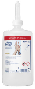 Tork Alcohol Gel Hand Sanitizer (Biocide)