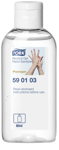 Tork Alkohol Hånddesinfektion Gel 80 ml